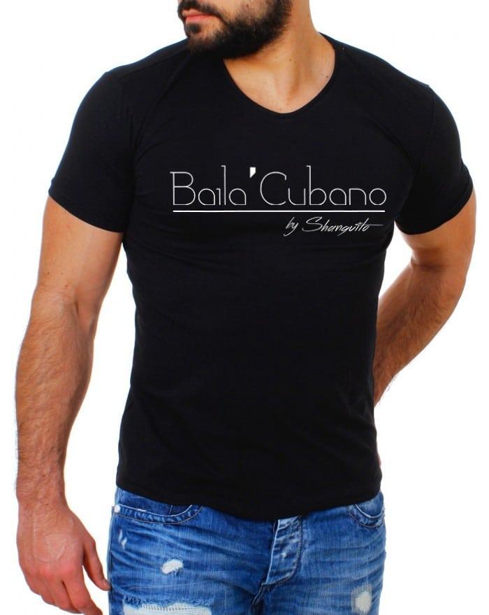 T-Shirt men Baila'Cubano
