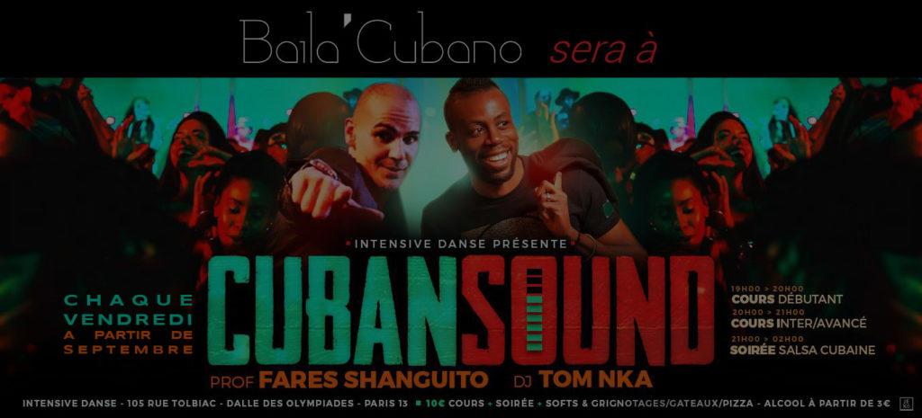 Baila Cubano at Cuban Sound every Friday Dark