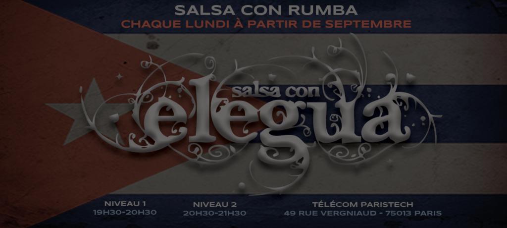 Logo Elegua Salsa con Rumba