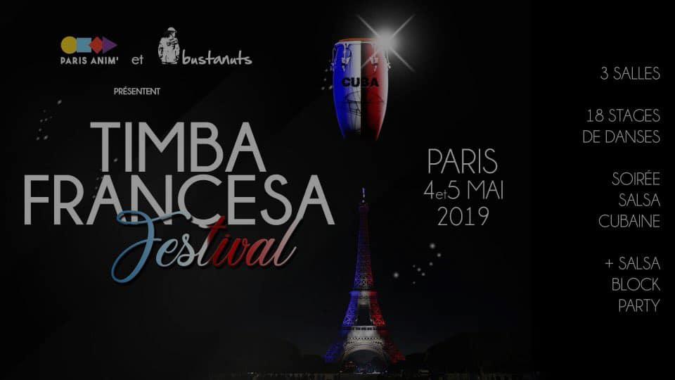 Timba Francesa Festival Dark